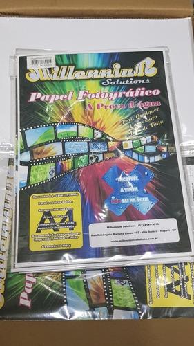 papel fotográfico 115g a4 - 100 folhas