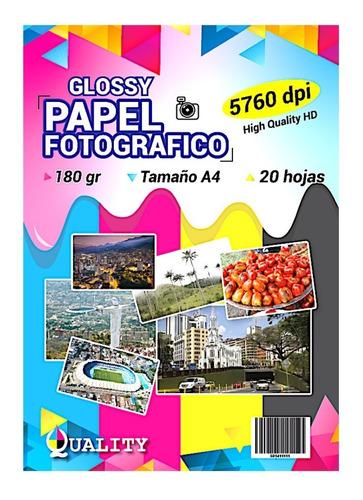 papel fotografico 180 gr
