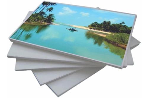 papel fotográfico 180g a4- 20 folhas a prova d'água