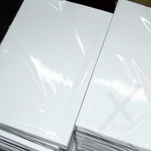 papel fotográfico 180g glossy a4 à prova d´água 500 folhas