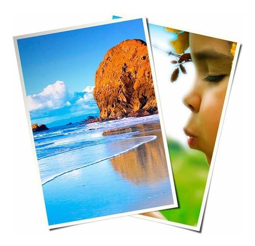 papel fotográfico 220g semi-brilho formato a4