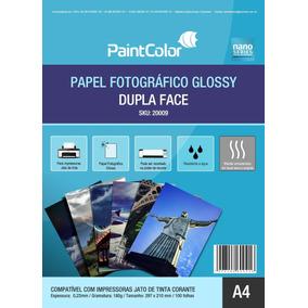 0046c4b13 20 Folhas Papel Fotográfico Glossy Dupla Face A4 220g - Informática ...