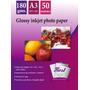 Papel Fotografico Glossy A3 De 180 Gr Resmas De 50 Hojas