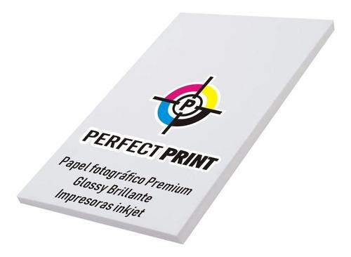 papel fotografico a4 100 hojas 130 grs brillante glossy