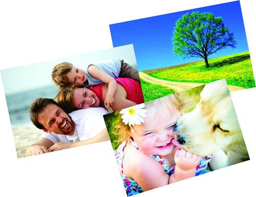papel fotográfico adesivado glossy paper  20 folhas promoção