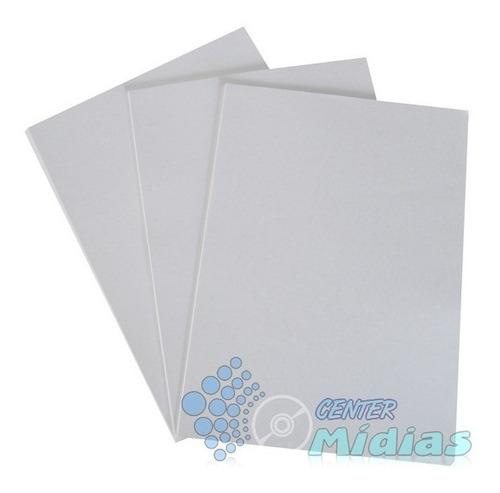 papel fotográfico adesivo 130 gramas a4 - 1.000 folhas - cm