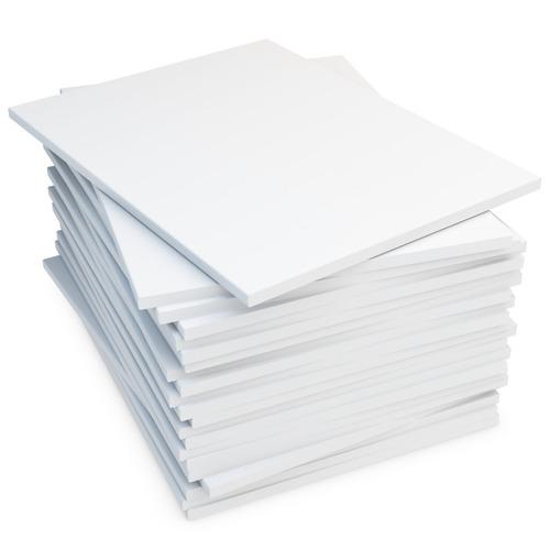 papel fotográfico adesivo a4 115g à prova d´água 100 folhas