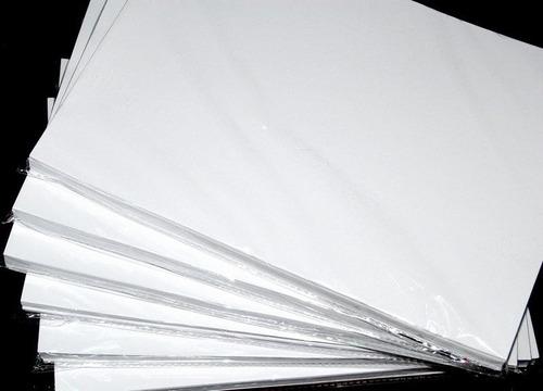 papel fotografico adhesivo glossy de 135gsm a4,