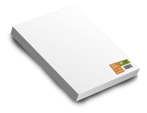papel fotográfico autoadhesivo brillo a3.130grs. x 20 hojas.
