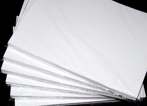 papel fotográfico brillante jumbo 10x15 pack 100 unid 180g/m