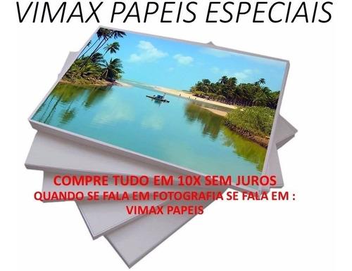 papel fotográfico glossy a4 115g à prova d´água 1000 folhas