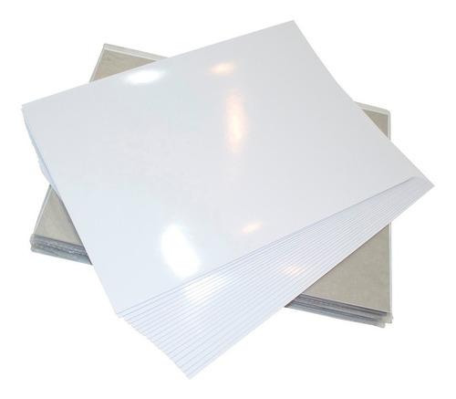 papel fotografico glossy a4 180gr premium paquete 100 hojas