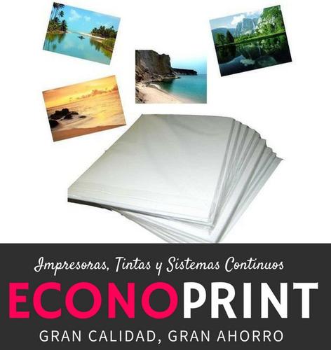 papel fotografico glossy a4 de 160 gramos x 20 hojas