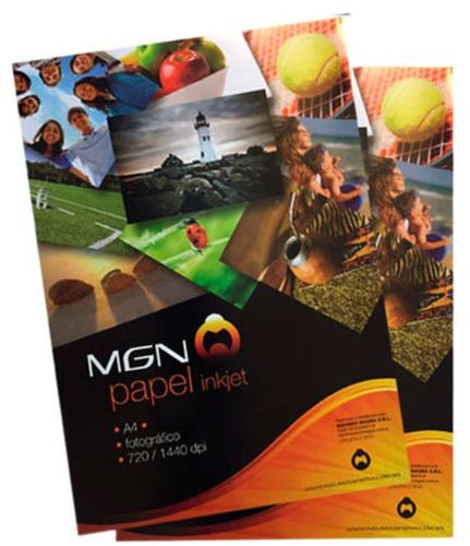 papel fotografico matte 108gr 100 hojas a4 mgn-franecdvirgen