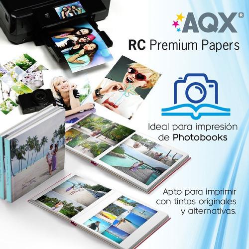 papel fotografico satinado profesional silk satin 10 x 15