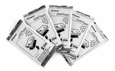 papel fotografico zink polaroid lg hp impresora pocket photo