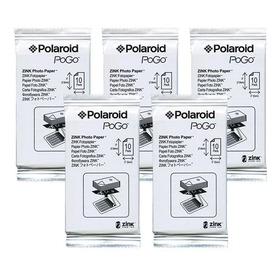 Papel Fotografico Zink Polaroid LG Hp Pocket Foto Envio Free