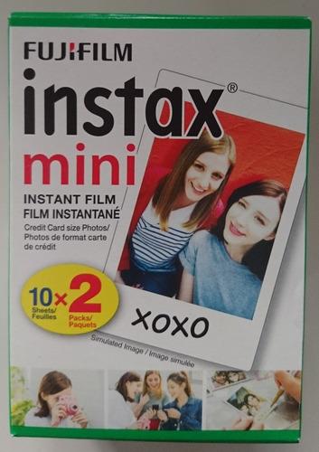 papel fujifilm para camara instantanea instax mini
