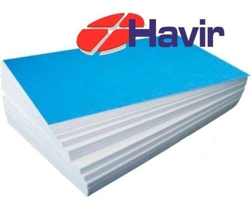 papel havir sublimatico a3 fundo azul 1000 folhas