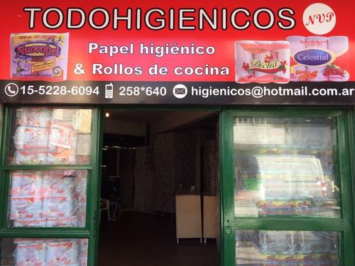 papel higienico bolson institucional desnudo gaspel nuovopel