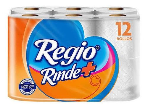 papel higiénico regio rinde más 12 rollos