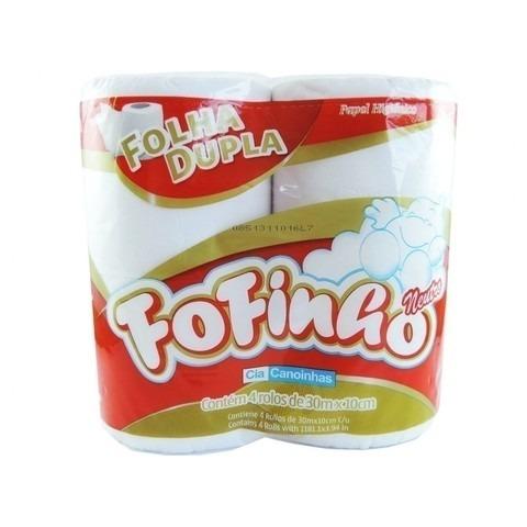 papel higiênico fofinho folha dupla com 4 rolos r 3 93 em mercado