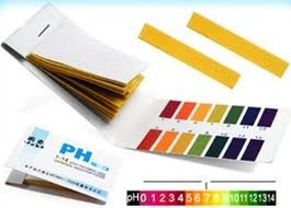 papel indicador de ph rango 0 - 14
