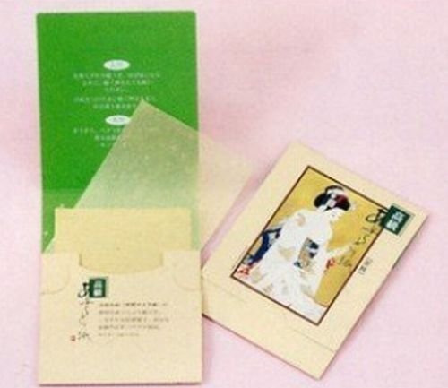 papel japonés premium oil blotting 200