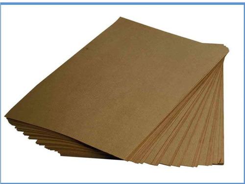 papel kraft 300grs ecologico tamaño carta 100hojas