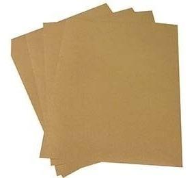 papel kraft (marrom) a3 - 200g/m2 com 50 folhas