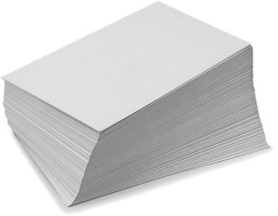 papel kromecote cartulina una cara 10 pts tabloide 300 hojas