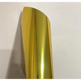 Papel Laminado Lamicote Ouro A4 1 Face 250g 20 Folhas