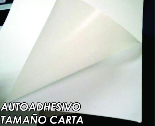papel lito autoadhesivo tamaño carta