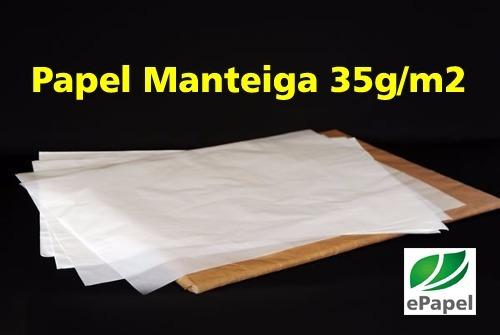 papel manteiga 50x70 c/400 granapel cristalex glasspel