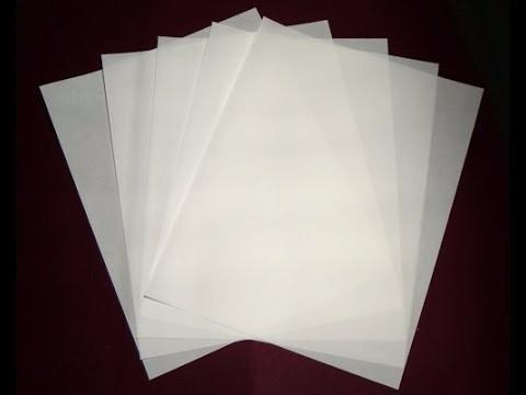 papel manteiga a4 (210x297mm) c/400 folhas cristal brilho
