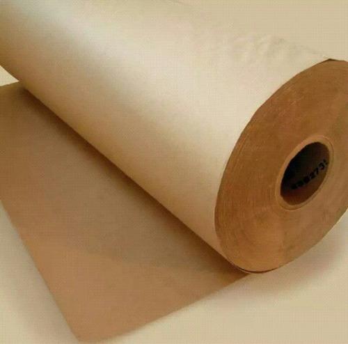 papel marron kraff 81 gr.bobina de 100 metros x 1.2 ancho