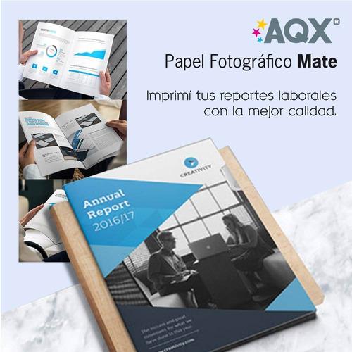 papel matte a4 108g 100hs ideal para sublimacion sublimar