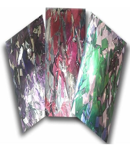 papel metalizado de colores bolsa de 1kg calidad premium