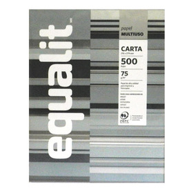 Papel Multipropósito Carta 500 Hojas Equalit
