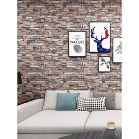 Papel Mural Piedra Ladrillo Aprox. 12 M2 (2 Rollos) Adhesiv