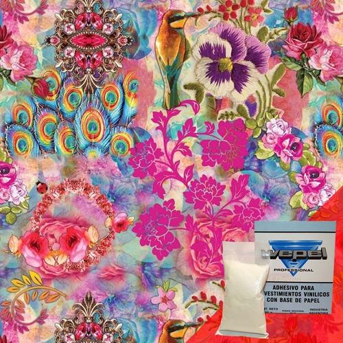 papel muresco aroma 83261 shabby chic adhesivo gratis