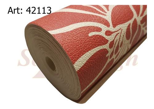 papel muresco vinilico corium flor roja 42113 soul