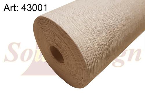 papel muresco vinilico simil wallcovering madras beige 43001