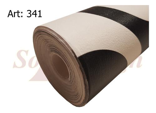 papel muresco vinilizado amarie circulos negros 341 soul