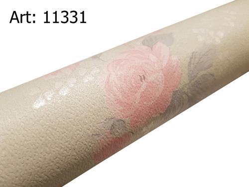 papel muresco vinilizado flor 11331 soul