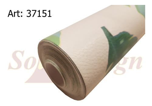papel muresco vinilizado hoja monstera 37151 soul