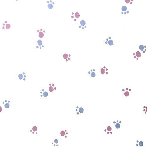 papel muresco vinilizado patitas rosa 34641 soul