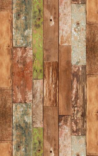 papel muresco vinilizado zen 34721 madera soul