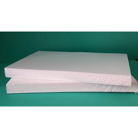 Papel Opalina 200 Gr  A4 Blanca Lisa 100 Hojas