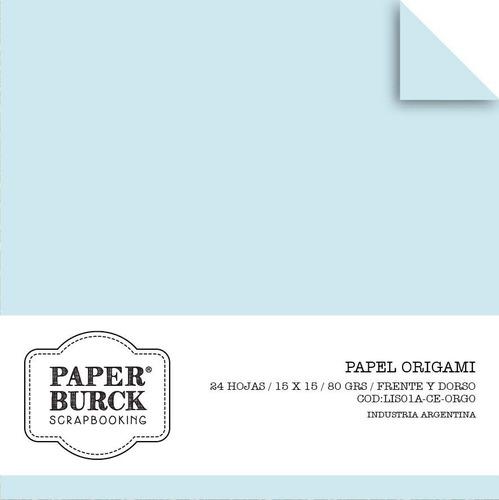 papel origami 15x15 doble faz